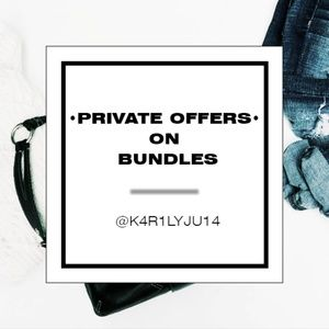Private Offers